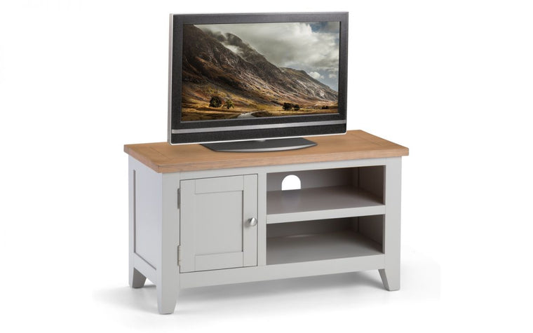 Julian Bowen Richmond 2-Tone Oak TV Media Unit