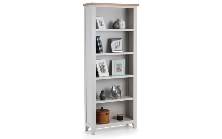 Julian Bowen Richmond 2-Tone Oak Tall Bookcase