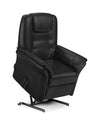 Julian Bowen Riva Rise & Recline Chair Black