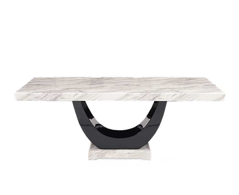 Mark Harris Rivilino 170cm Cream Marble Dining Table