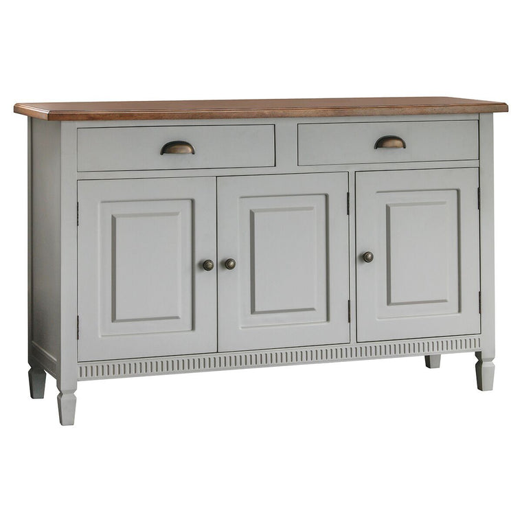 Hudson Living Bronte 3 Door / 2 Drawer Sideboard Taupe