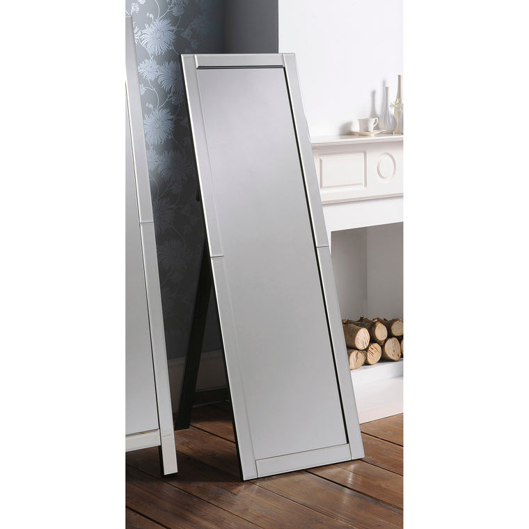 Yearn Bedroom ART109 Cheval Black Edge Mirror