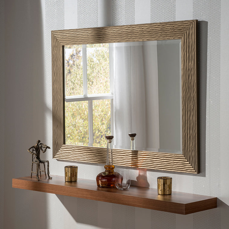 Yearn Rectangular YG223 Bronze Mirror