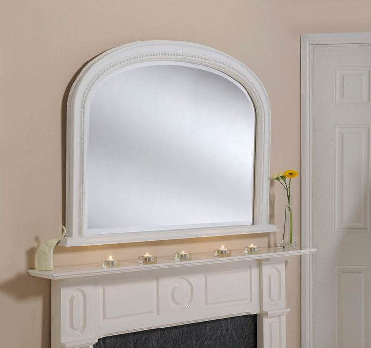 Yearn Over Mantles YG315 Matt White Mirror