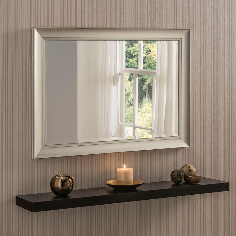 Yearn Contemporary YG704 Silver Mirror