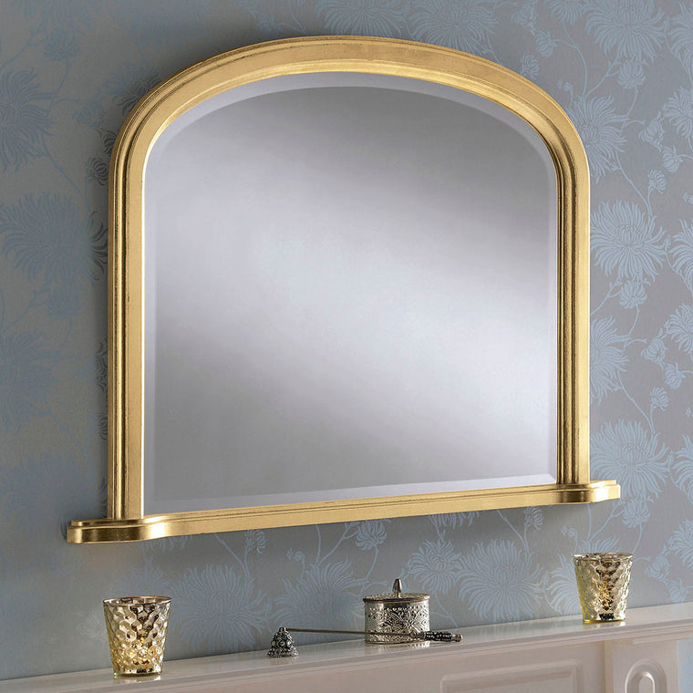 Yearn Over Mantles YG95 Gold Leaf Mirror