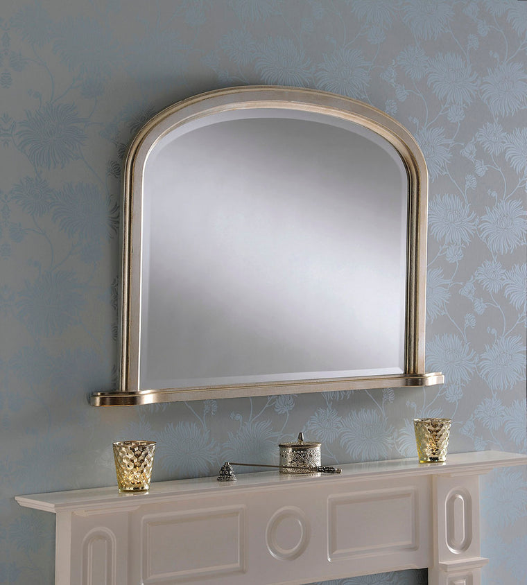 Yearn Over Mantles YG95 Silver Leaf Mirror