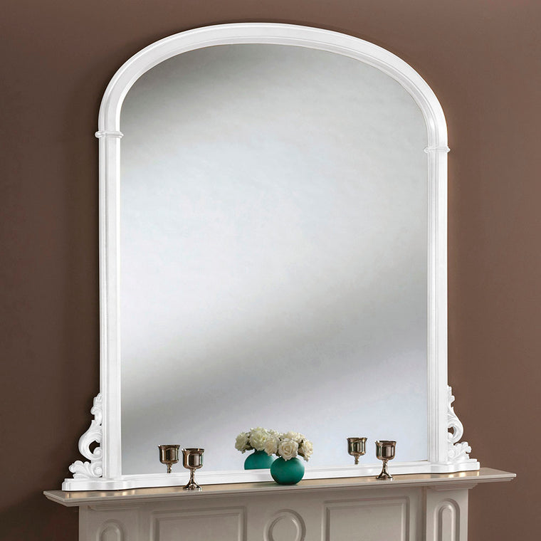 Yearn Over Mantles YG98 White Mirror