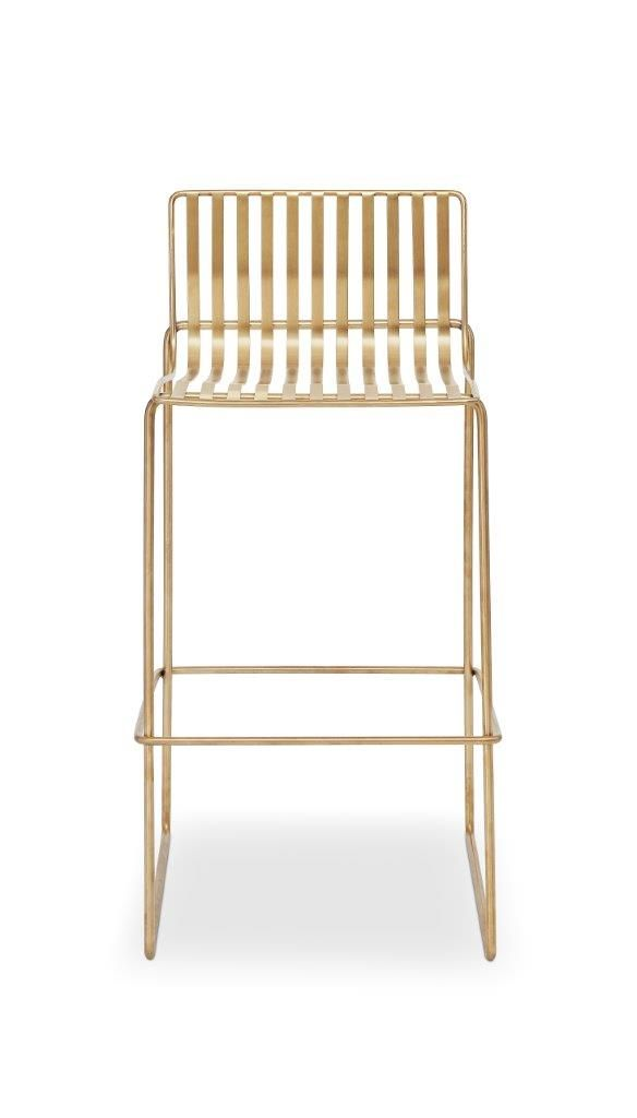 Gillmore Space Finn Bar Stool Brass