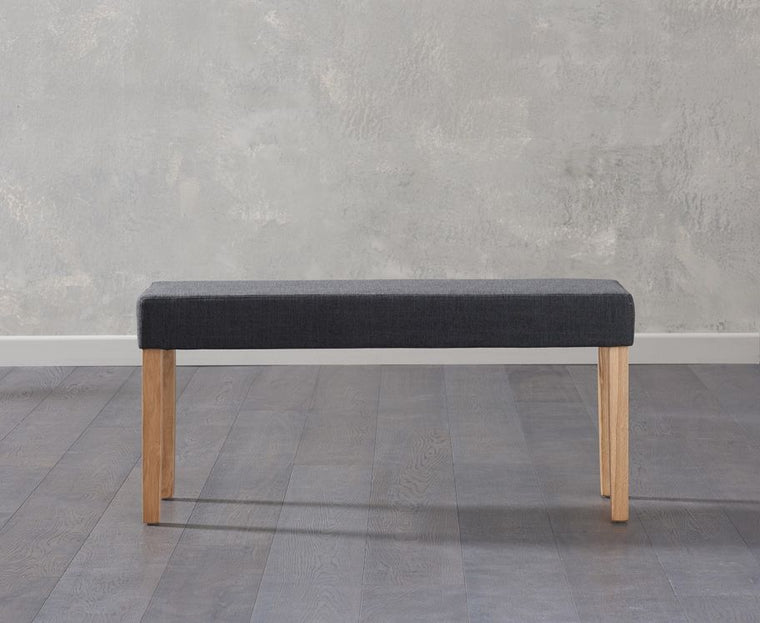 Mark Harris Maiya Small Black Bench