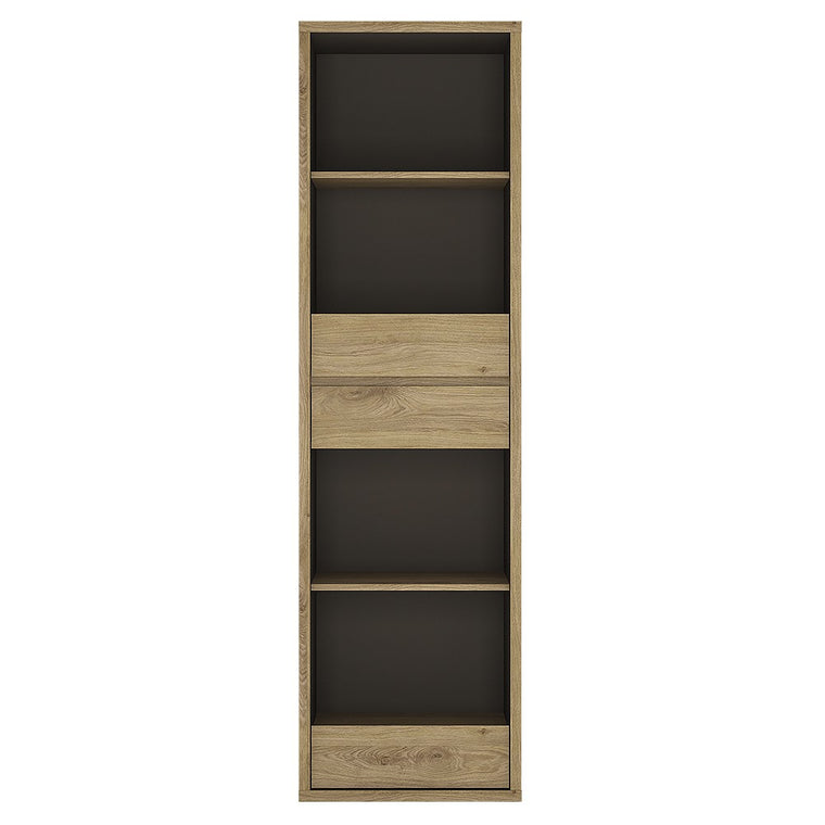 Axton Kingsbridge Tall Narrow 3 Drawer Bookcase