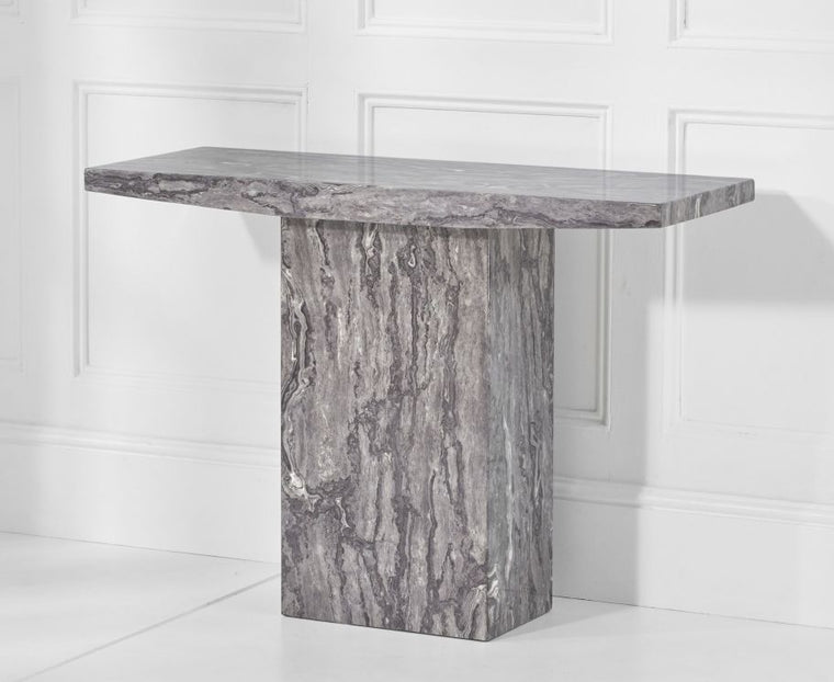 Mark Harris Coruna Grey Console Table