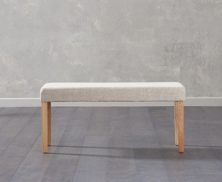 Mark Harris Maiya Small Cream Bench