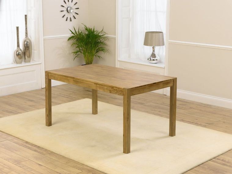 Mark Harris Promo 150cm Solid Oak Dining Table