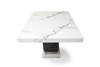 Mark Harris Rivilino 200cm White Marble Dining Table