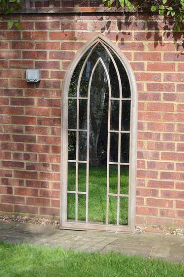 Carrington Gothic Arch Large Garden Mirror 150 x 61 CM