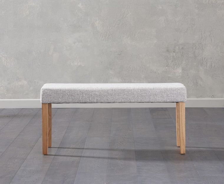 Mark Harris Maiya Small Grey Bench