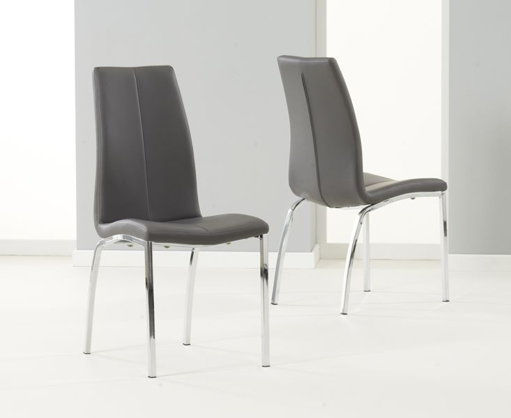Mark Harris Carsen Grey Dining Chair (Pairs)