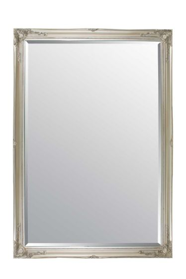 Carrington Silver Extra Large Leaner Mirror 201 x 140 CM