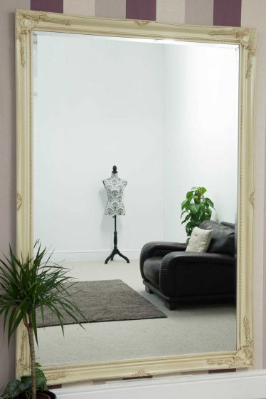 Carrington Ivory Extra Large Leaner Mirror 201 x 140 CM