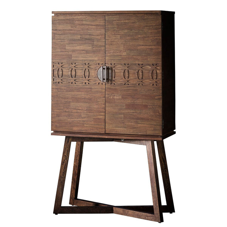 Hudson Living Boho Retreat Cocktail Cabinet