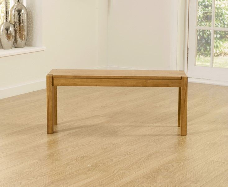 Mark Harris Promo Solid Oak Medium (105cm) Bench