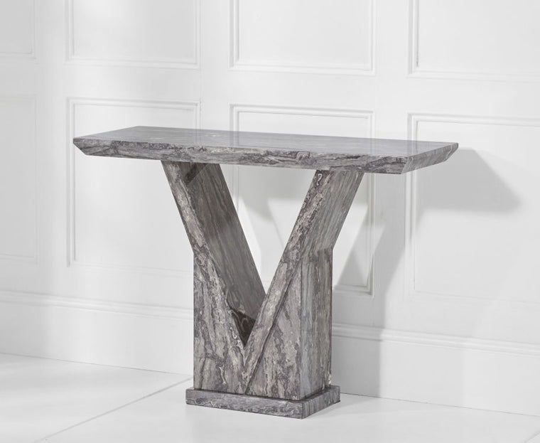 Mark Harris Minsk Grey Console Table