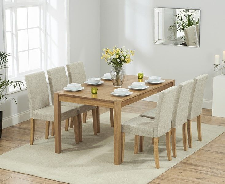 Mark Harris Promo 150cm Dining Set With 6 Maiya Chairs