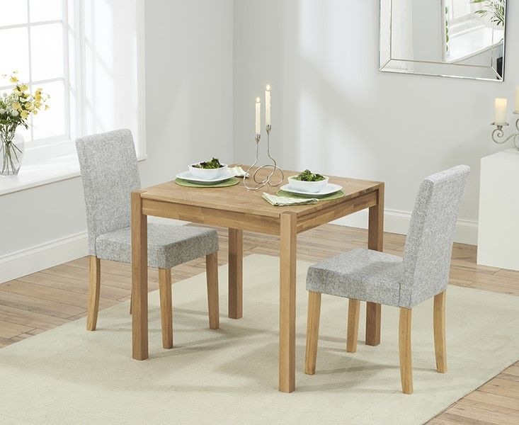 Mark Harris Promo 80cm Dining Set With 2 Maiya Chairs