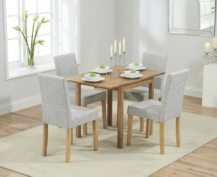 Mark Harris Promo Rectangular Extending Dining Set With Maiya Chairs