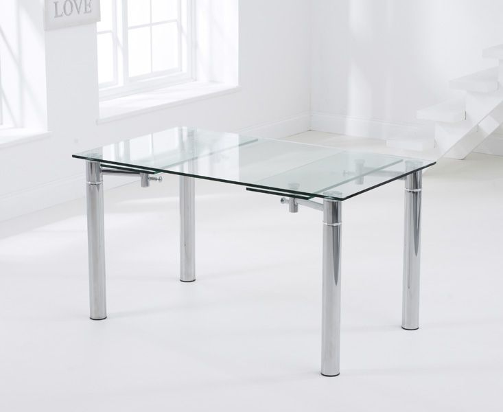 Mark Harris Grenada 140 - 200cm Extending Glass Dining Table