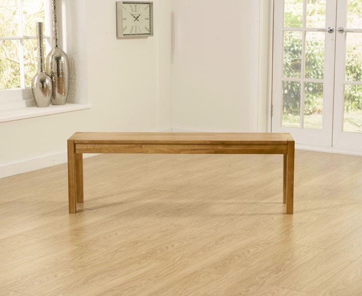 Mark Harris Promo Solid Oak Large (135cm) Bench