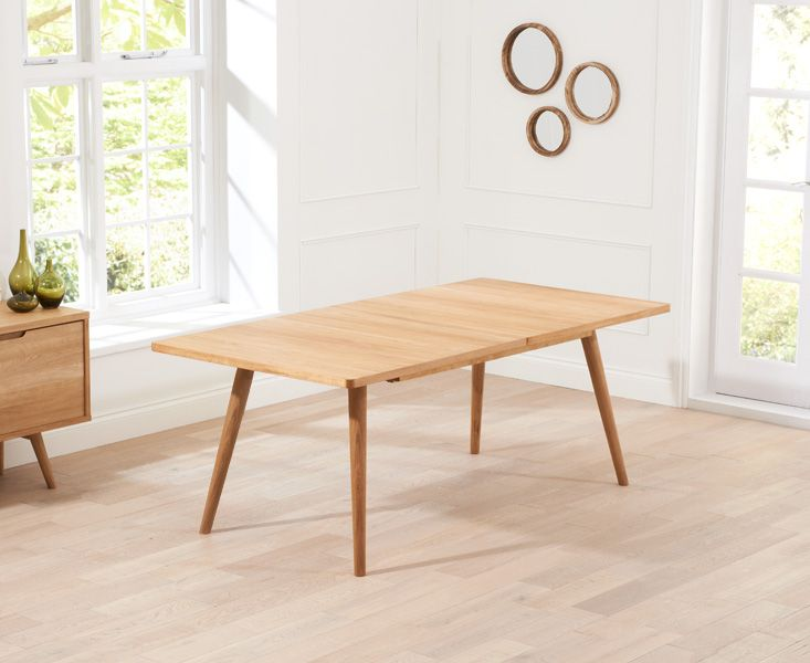 Mark Harris Tribeca 150cm Oak Extending Dining Table
