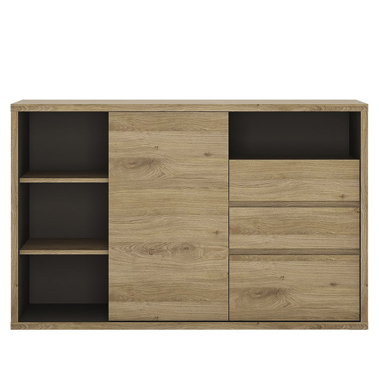 Axton Kingsbridge 1 Door 3 Drawer sideboard