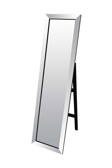 Carrington All Glass Modern Cheval Mirror 150 x 40 CM