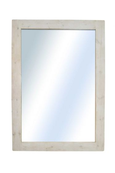 Carrington Light Natural Wood Extra Large Wall Mirror 213 x 152 CM