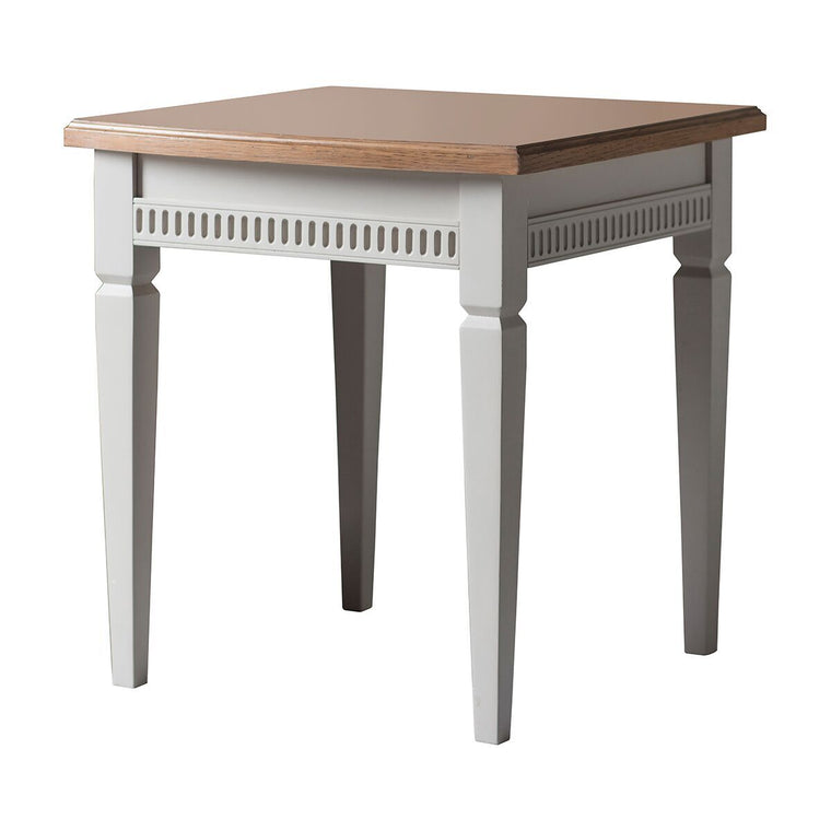 Hudson Living Bronte Side Table Taupe