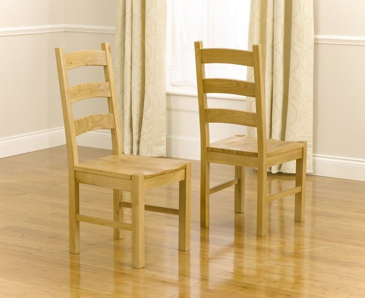 Mark Harris Valencia Timber Chairs (Pairs)
