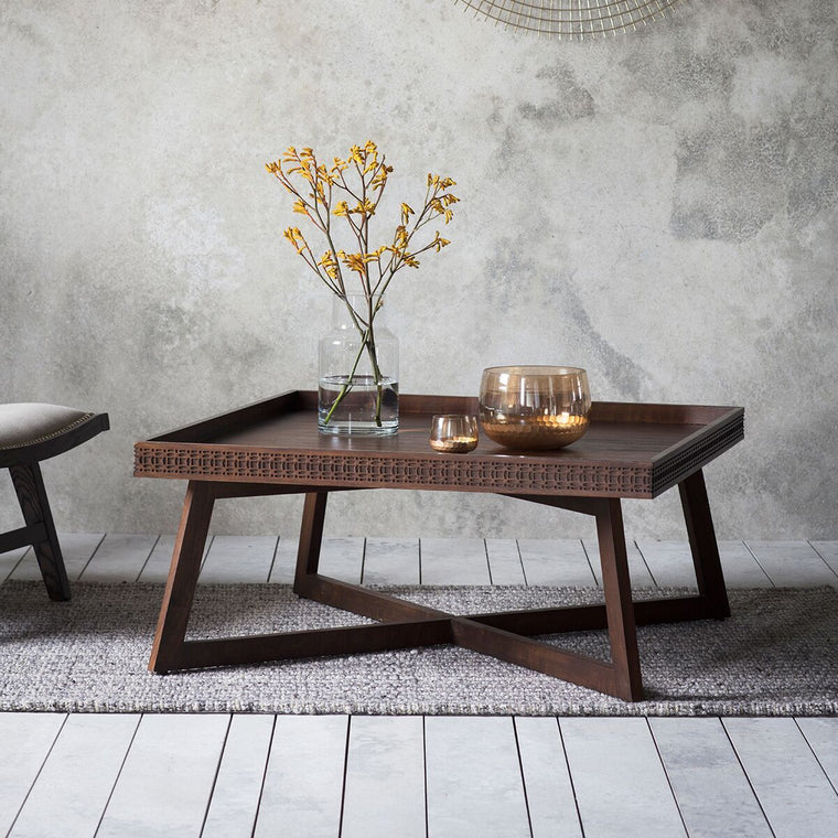 Hudson Living Boho Retreat Coffee Table