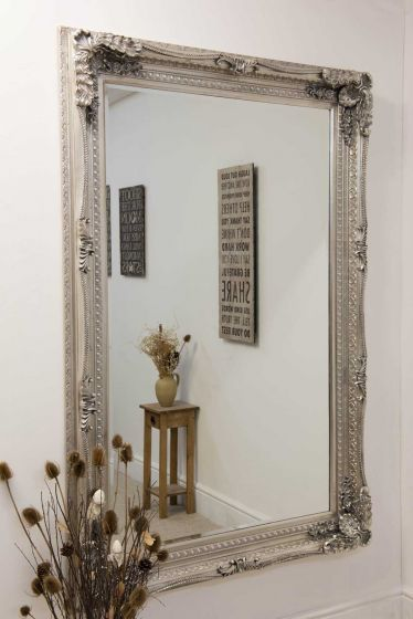 Carrington Silver Large Leaner Mirror 185 x 123 CM