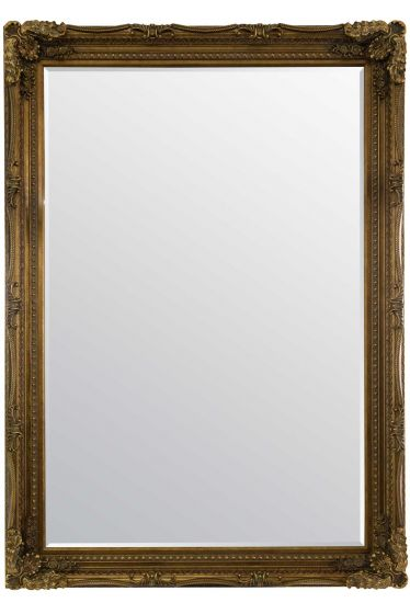Carrington Gold Extra Large Wall Mirror 215 x 154 CM