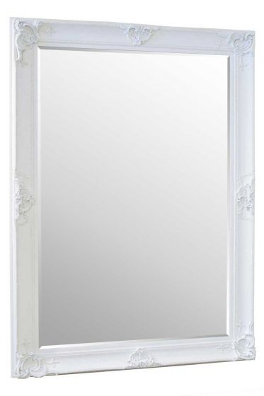 Carrington White Extra Large Leaner Mirror 213 x 152 CM