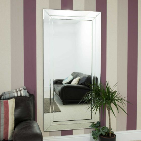 Carrington All Glass Full Length Mirror 174 x 85 CM