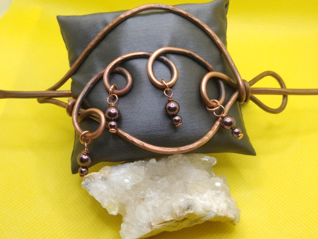 Copper Hair/Shawl Pin