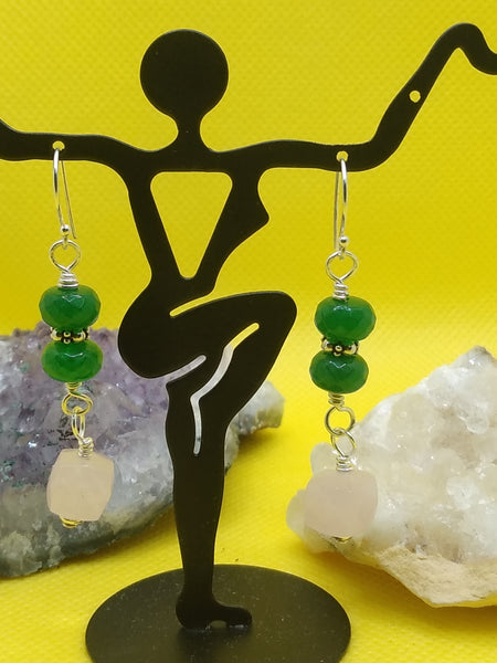 """Greenfield"" ~ Earrings"