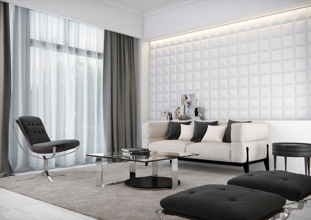 SQUARE 3D WALL PANEL