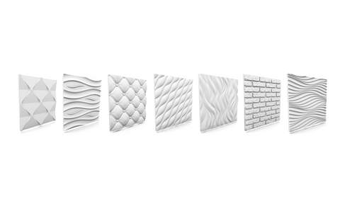 Polystyrene 3D wall panel Sample, [shop-name]