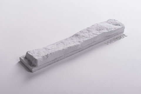 White Stone - decorative brick decor with grout, [shop-name]
