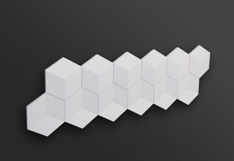 CUBE 3D WALL PANEL 1PC, [shop-name]