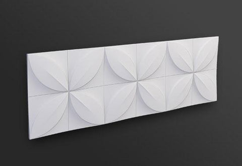 FLOWER 3D WALL PANEL 1PC, [shop-name]